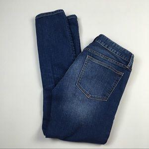 Gap Always Skinny Medium Wash Stretch Jeans Sz 27S